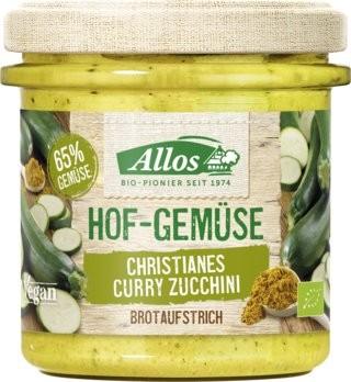 Hofgemüse Curry Zucchini Brotaufstrich