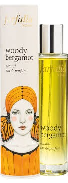 Woody bergamot, natural eau de parfum