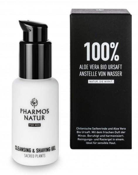 Pharmos Natur Cleansing & Shaving Gel
