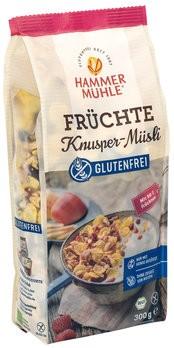 Früchteknuspermüsli glutenfrei