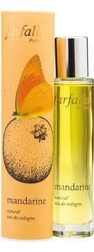 Mandarine, natural eau de cologne