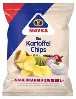 Kartoffelchips Sauerrahm & Zwiebel